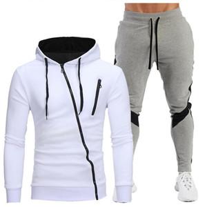 Roupas de marca. Roupa para Homem. Outono e Inverno Venda Quente Homens Hoodie + Calças Dois Casual Sportswear 2020 Novo
