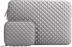 MacBook Sleeve Laptop Foam Bag Inch Neoprene Pro Air, Notebook Diamond With 13-16 Compatible Cover,Gray Kogqh
