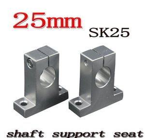 Wholesale- Sk25 Sh25a 25mm Linear Shaft Support 25mm Linear Rail Shaft Support jllbiN dh_niceshop