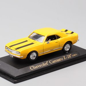 1 43 Scale mini classics vintage 1967 Chevrolet Camaro Z28 muscle car model Diecasts & Toy Vehicles gift for kids boy collection Z1124