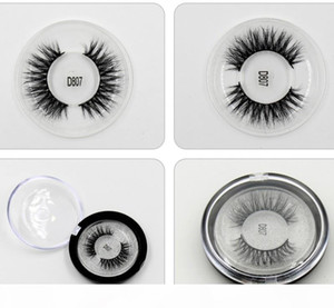 3D Mink Silk Eyelash 1 Pair box Private Logo Acceptable 3D Real Mink Hair Fur Eyelashes Messy Eye lashes Sexy Eyelashes Free Shipping