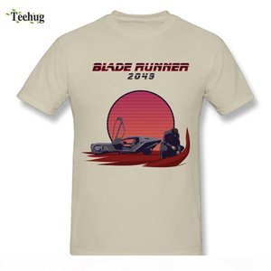 Pure Cotton Men's Blade Runner 2049 T-shirt Fashion Movie Style Short Sleeve T Shirt