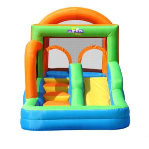 Playhouses Bouncy Castles Indoor Boy Girl Slide Home Garden Supplie Children's Inflatable Park Outdoor Children Playground Game Fence Slides Combo
