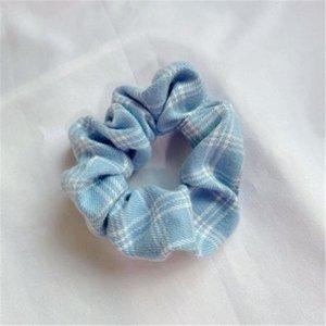 Grid 3 Farben Elastische Pferdeschwanzhalter Streifen Haarbänder Horrige Haarbänder Krawatten Seile für Frauen Girlswnrr