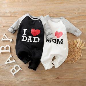 Newborn Baby Boy Clothes Cartoon Twin Babies Costume New born Girl Romper Onesie Toddler Fall Designer Jumpsuit Things Pajamas C0126