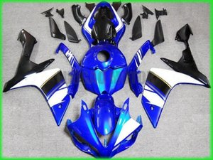 Hi-quality bodywork white blue black Injection fairing kit fit for YAMAHA 2007 2008 YZFR1 YZF R1 07 08 motorcycle fairings body kits