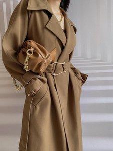 2020FW Gewinner Neue Frauen Hohe Qualität Frauen Luxus Trenchmantel Damen Fashiion Mantel Oberbekleidung GDNZ 8.20