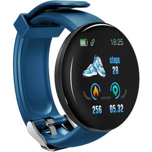 D18 13 pulgadas TFT Pantalla de color Smart Watch IP65 Impermeable Impermeable Support Llamada Recordatorio Rastro cardíaco Monitoreo Monitoreo de Presión Monitorios de MonitoreoP