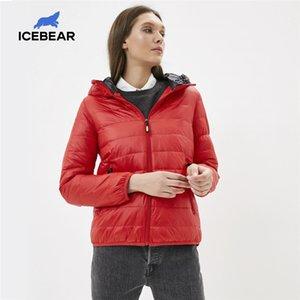IceBear New Women Lightweight Chaqueta con estilo Casual Spring Jacket Marca Parka GWY19151D 201214