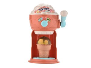 Ice cream machine children's toys, color matchingl, a variety of properties rest assured baby entertainment play