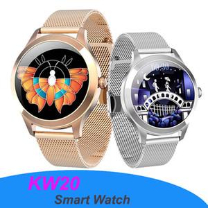 KW10 Pro Smart Watches 여성을위한 IP68 방수 동적 시계 다이얼 여성 디지털 시계 Smartwatch Android iOS