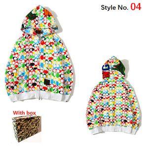 Großhandel Herren Hoodie Hohe Qualität Lose Frauen Sweatshirt mit Label Mode Hip Hop Buchstaben Langarm Top Jacke mit Box