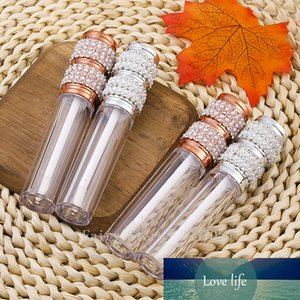 5ml Empty Rose Gold Round Lip Gloss Tubes Silver Lip Gloss Containers Lipgloss Bottles Cosmetic DIY Pearl Diamond Lipgloss Tube