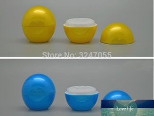 10 30 50pcs Plastic Ball Yellow Cosmetic Lip Balm Container, Empty Makeup Tool Lipstick Blue Package, Lip Rouge Refillable Case