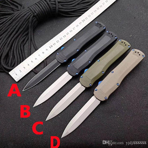 Benchmade BM 3400 de doble acción táctica cuchillo automática BM 3300 3310 3350 940 535 caza del cuchillo de bolsillo de la autodefensa micro ut85 combate Trood