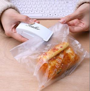 Macchinari di laminazione del calore Mini Borsa portatile Guardiatore di ricosaliere Imballaggio Sacchetto di plastica Impulse Sealer Portatile Viaggio Portatile PRESSIONE MANO PRESSIONE FFC3374
