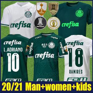 20/21 Palmeiras Soccer Jersey Man Women Felipe Melo L.Adriano Football Jersey G.Gomez Breno Lopes Camisa Palmeiras Libertadores Convers 2020