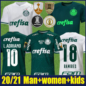 20/21 PalmEiras Fútbol Jersey Man Mujer G.Veron Dudu L.Adriano Jersey Fútbol Felipe Melo Ramires Camisa Palmeiras Libertadores Finales 2020