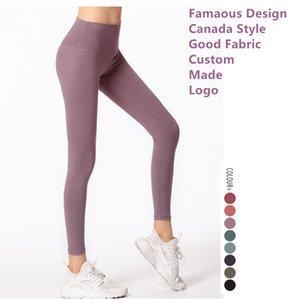 13 Colors Womens Sports Yoga Leggings Sport Femmes Fitness Capris Canada Style Align Leggings Set Designer Pants