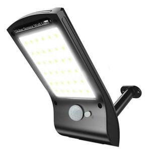 36 LEDs Solar Power Wall Outdoor Street PIR Motion Sensor Garden Yard Light Lamp