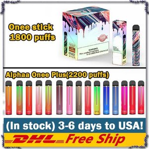 Newest 2200 Puffs Kangvape Alphaa Onee Plus Stick Disposable Vape Pen With 870mAh Battery 8.5ml PodVape Kit VS Bang XXL Puff Max