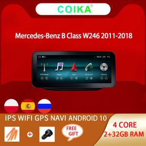 """Android 10 Système 10.25 """"DVD de voiture Stéréo multimédia pour Mercedes-Benz W246 2011-2018 WIFI BT 2 + 32G RAM IPS écran tactile GPS NAVI"""