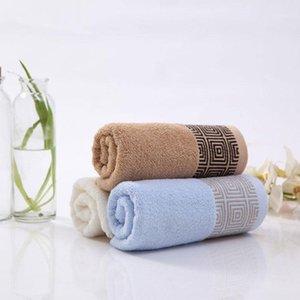 FLC 2 pcs / set Jacquard macio algodão de algodão toalha para adultos espessa casa de banho super 33x74cm 201