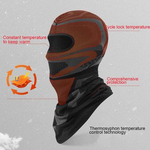 Winter Cycling Headwear Fleece Neck Warmer Bandana Caps Running Mask Bicycle Bandana Sports Scarf Face Mask Headband jllCLj
