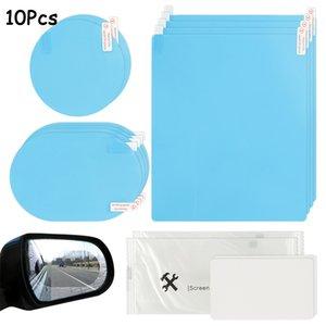Araba Dikiz Aynası Koruyucu Film Sticker Çıkartmaları Anti Sis Yağmur Temizle Ayna Koruyucu Oto Aksesuarları
