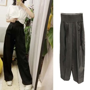 Hot Sales Fashion Women Harem Pants Elastic Waist Women Casual Long Pants Black Color Cool Streetwear with Fashion