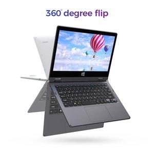 2020 neuester Laptop 11,6-Zoll Intel Core 128GB 1TB erweiterbarer Speicher 2560x1440 IPS ultra-dünnen Touch-Screen-Laptop 2 in PC