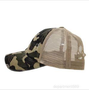 A-colail de béisbol camuflaje diseños sombreros hembra leoprad impresión malla transpirabilidad sombrero mujeres adult tapas bolas OWC3594
