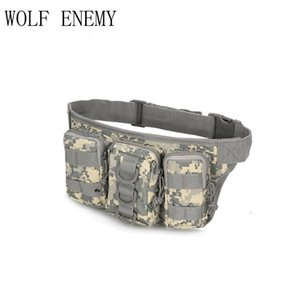 800D Oxford Outdoor Bags Tactical Molle Waist Pack Bag Camouflage Travel Sport Belt Bag Storage Pouch for Cycling Hike