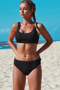 Hot women Bikini Set Retro Ethnic vest Swimsuit 2021 new 2 Piece set sexy Bandage Push Up Padded Bra Bathing Suits Swimwear