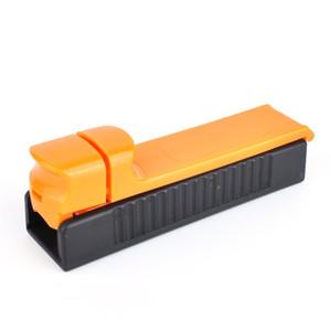Push-Pull-Zigarettenwalze Einzelrohr-Kunststoff-reine Farbe Handtabak-Filter-Hersteller Rauchen Zigarren-Rollmaschine langlebig auf Lager 26Ds E19