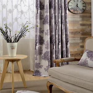 2020 New Sheer Curtinas Sombreamento Impresso Cortina de Pano Cortinas para Living Dining Sala Quarto Blinds