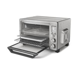 O forno de pizza de ar de mesa doméstico 24 litros 6sslics Multi-função Função 11 Funções de Cozinha Aço Inoxidável 10 em 1 Forno Digital Inteligente