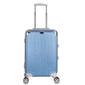 Fashionable and Trendy Luggage with Co-branded Flight Case High-quality Aluminum Alloy Continuously Variable Trolley Case Suitcases 20 24 28
