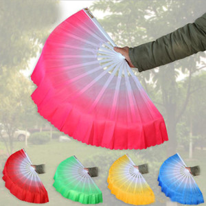 Free Shipping New Arrival Chinese Dance Fan Silk Veil 5 Colors Available For Wedding Party Favor Gift
