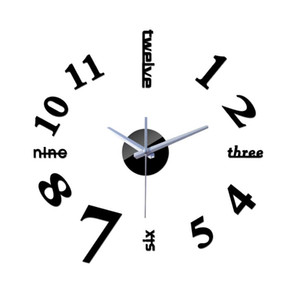 2020 New Clock Wall Clocks Horloge Watch Large 3d Diy Acrylic Mirror Reloj Pared Quartz Living Room Modern Sale