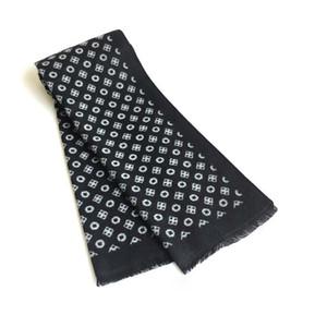 Bufandas elegantes Hombre de invierno Bufanda Mantón Cashmere para hombres Moda Moda Soft Warm Black Shaws Wraps 180 * 30 cm