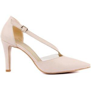 Moxee-beige beige mujer zapatos de oficina de primavera mujeres tacones altos bomba resbalón en sandalias sandalias cómodas damas tenis tacones altos blancos