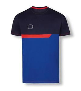 2020 Explosión Modelo F1 Fórmula One Traje de Racing Traje Equipo de Equipo Ocio Deportes Deportes Cuello Redondo Cuello Corta Velocidad Speed Traje Camiseta