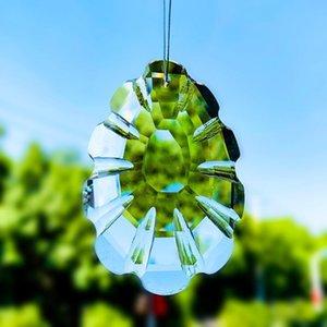 Suncatchers Chakra Crystal Prism падение висит стекло кулон орнамент Fengshui сад светло-ловцы елки висит декор H JLLHPQ