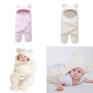 Yenidoğan bebek battaniyeleri peluş güzel vmodelling bölünmüş bacak tulum kundaklama uyku tulumu aksesuarları sonbahar kış sıcak sıcak satış 25jta m2