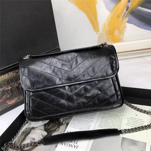 Bolso bolsas bolsas bolso retro aceite cera arrugado blozled ganado monedero embrague hombro mensajero bolsas de hombro 5 colores 2 tamaños yb30