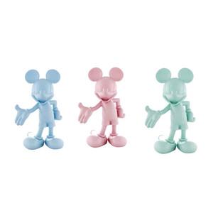 Meubles à la maison TRENDY 30CM LEBLON DELIENNE MIK Mouse Résine Figurines Kit de garage Kit Kit Action Décorer la sculpture de la collection
