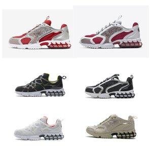 Mens Sneakers Spiridon Cage 2 Silver Metal Show Shoes Hommes Femmes sans trace Femme Sports Formateurs en plein air 36-45
