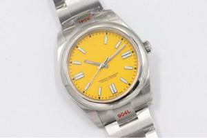 Hot New Model Hight Quality Hombres Relojes de acero inoxidable Relojes Mecánicos automáticos Relojes impermeables Reloj de cristal zafiro 124300