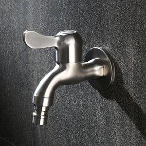 Robinet d'eau en acier inoxydable mural BIBCOCK salle de bains à lave-linge robinetterie toilette BiBcock BIBCOCK POWER POWER TAP